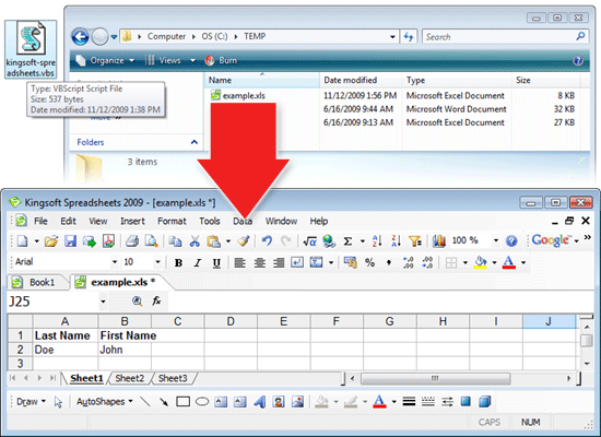 Kingsoft Office Is Compatible With Microsoft Office Visual