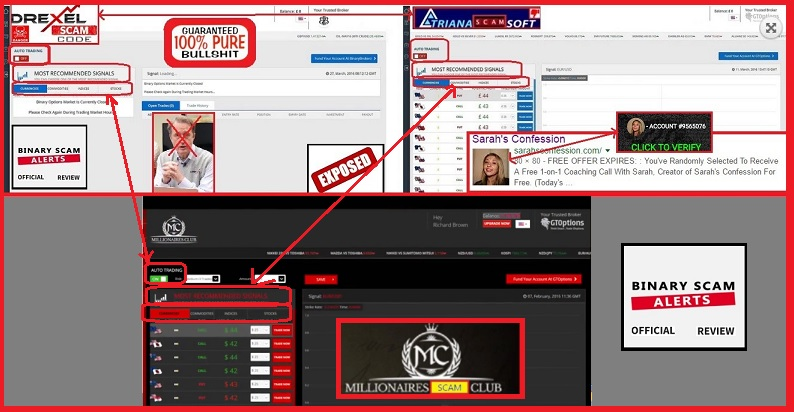 The millionaires club scam exposed legit review finds proof millionaires club 3 malvernweather Choice Image
