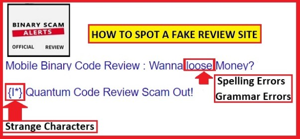 Fake Review Sites