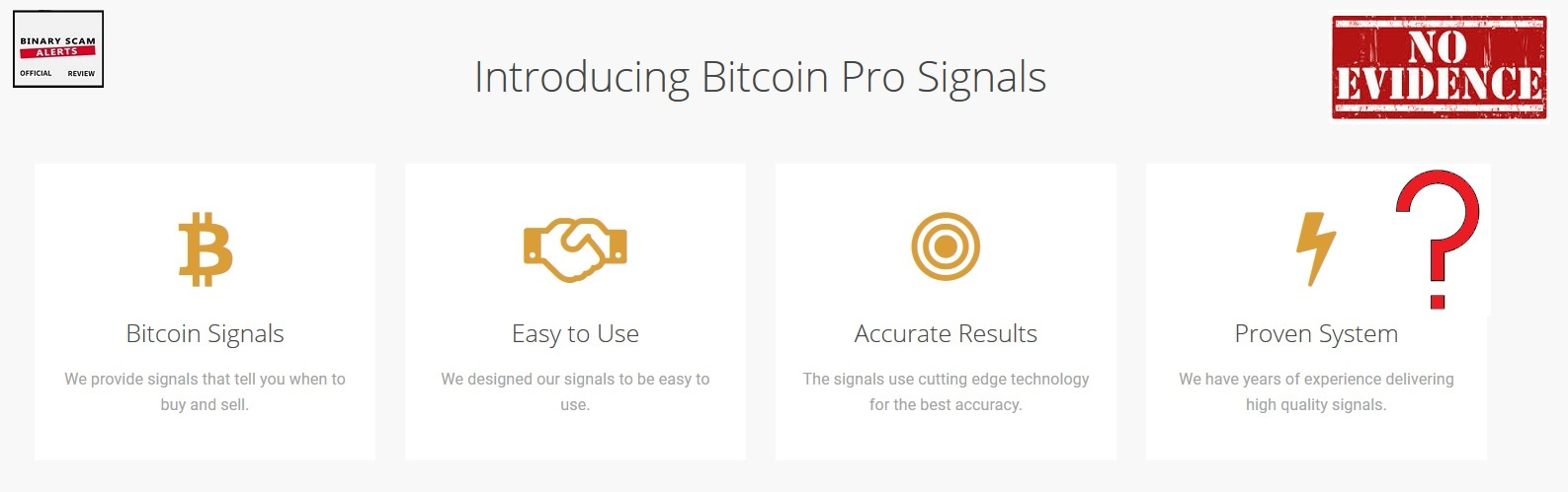 Bitcoin Pro Signals Review, SCAM Bitcoin Pro Signals