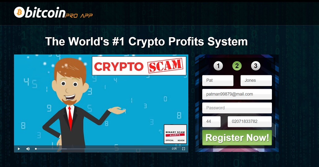 Bitcoin Pro App Review, Cloned Bitcoin Pro App SCAM Exposed   Binary