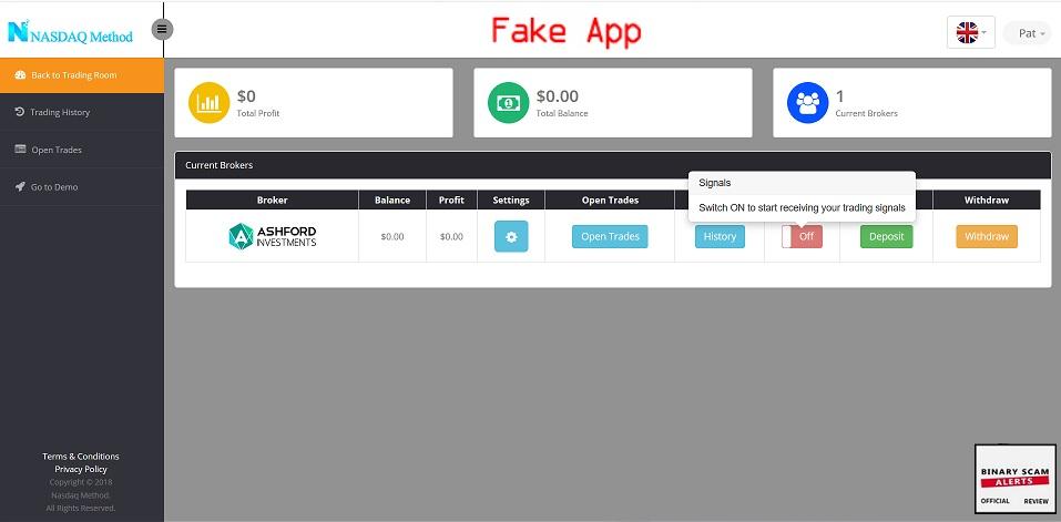 Nasdaq Method Review Fake Nasdaq Method Stock Scam
