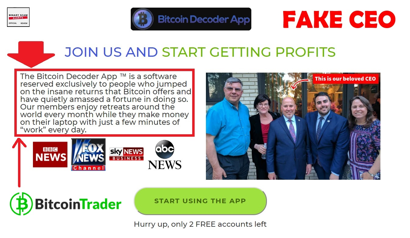 Bitcoin Decoder App Review, Fake Bitcoin Decoder Scam App? Yes