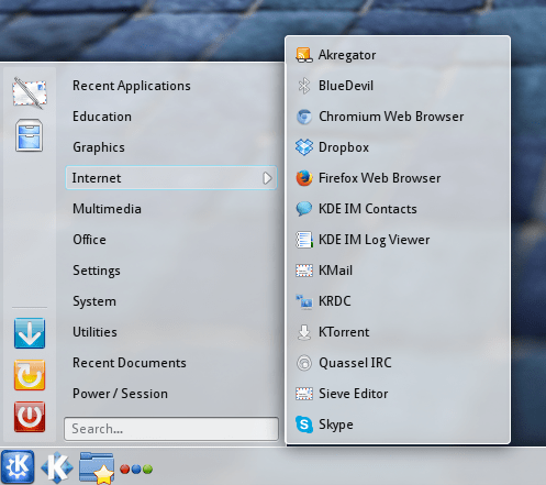 kubuntu homerun kicker