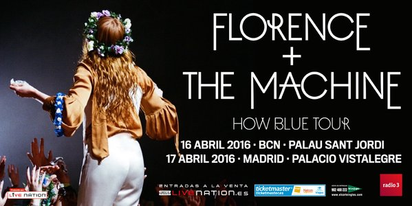 florence and the machine barcelona madrid
