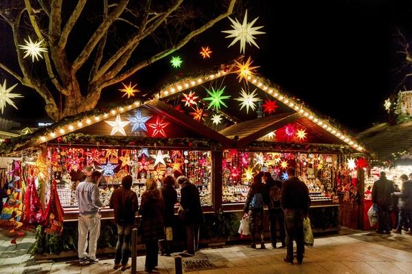 Optredens tijdens de Kerstmarkt