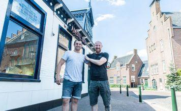 Peter en Alex van Van Rooijen in Wervershoof