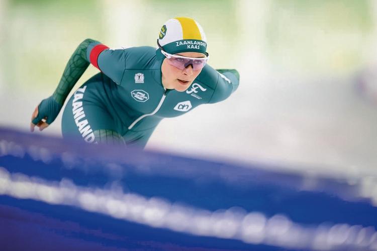 Irene Schouten schaatsen Wervershoof