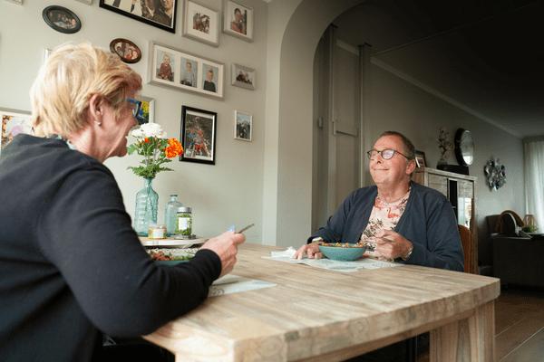 Petra en Chris Hoogland in Wervershoof