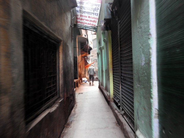The narrow alleys that are dotted with shops selling all kinds of stuff