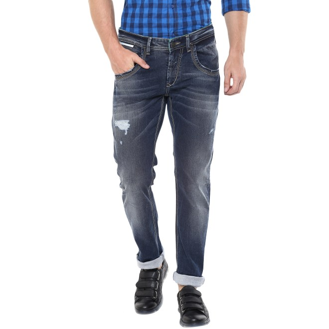 Spykar Riped Denim
