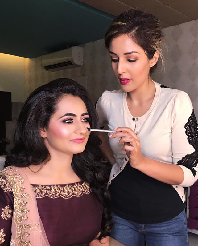 Pooja Khurana at work