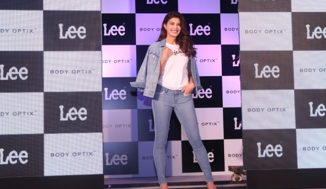 LEE India unveiling their brand ambadassor Jacqueline Fernandes (2)
