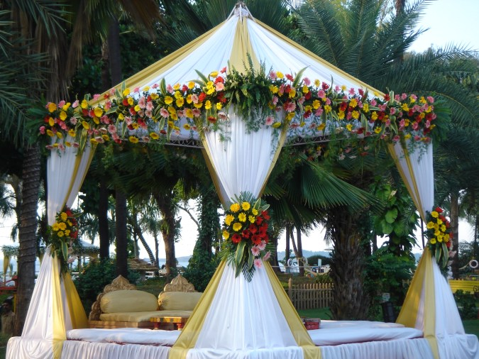 Wedding Reception at The Resort Madh Marve