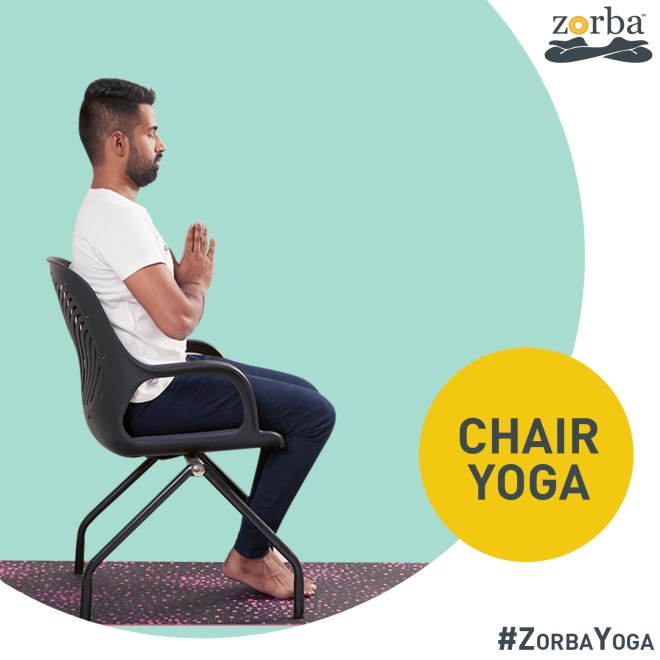 Chair yoga at Zorba