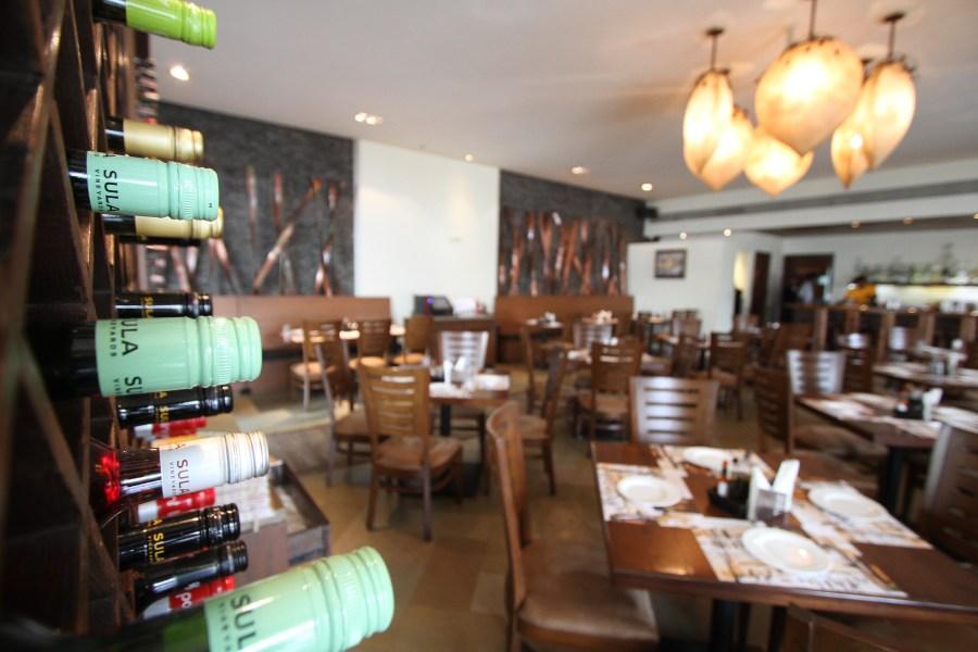 Interiors of Cafe Mangii