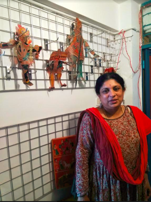 Anupama Hoskere, Dhaatu Puppet Theatre, Bengaluru