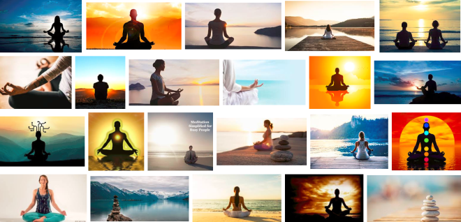 Meditation as a form of relaxing the mind
