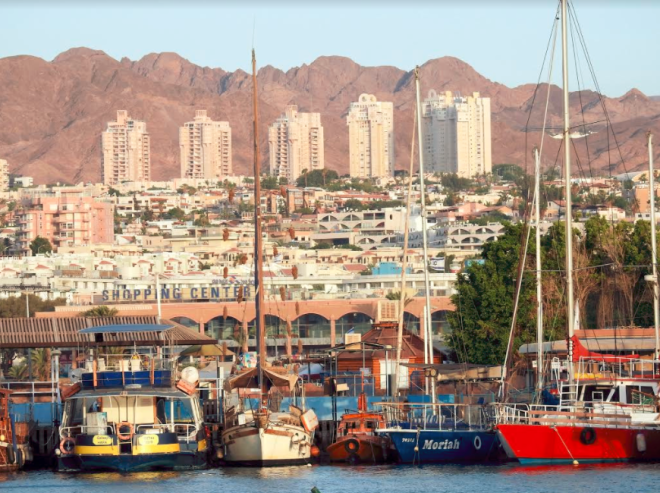 Southernmost tip of Israel is at Eilat
