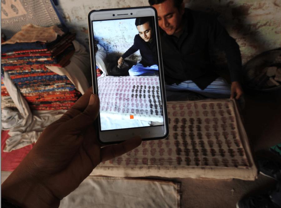 Weavers in Bishnoi