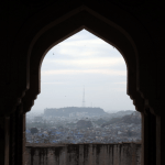 Jodhpur framed from Mehrangarh Fort