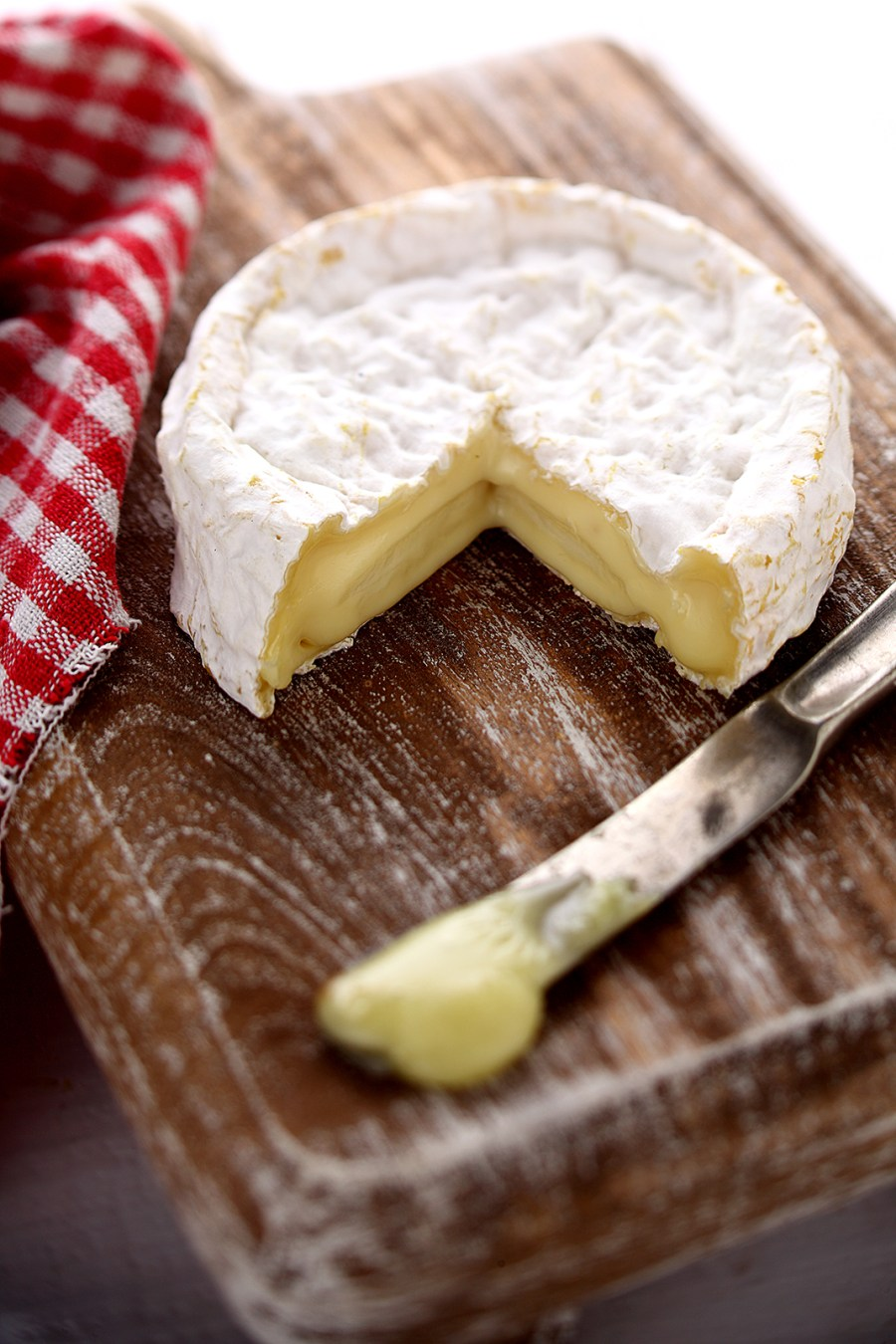 Camembert - courtesy The Spotted Cow Fromagerie