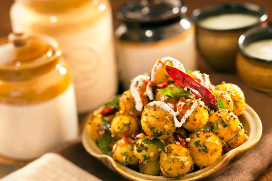 Martaban De Charra Aloo - Punjab Grill