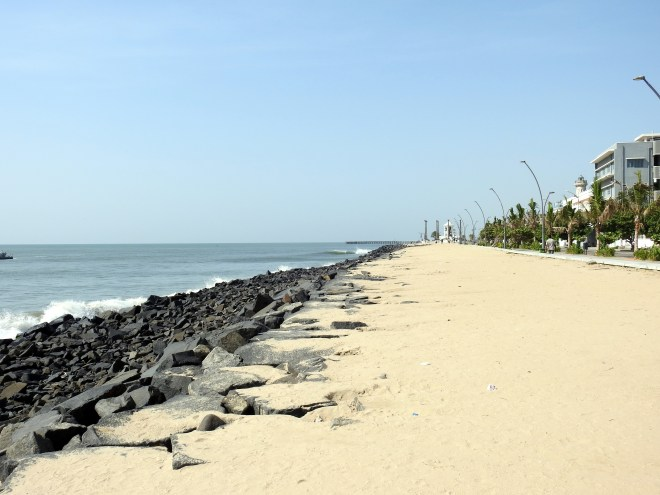 Pondicherry promenade