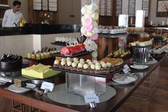 Desserts at The Den Drunch