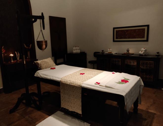 Jiva Spa Treatment Room