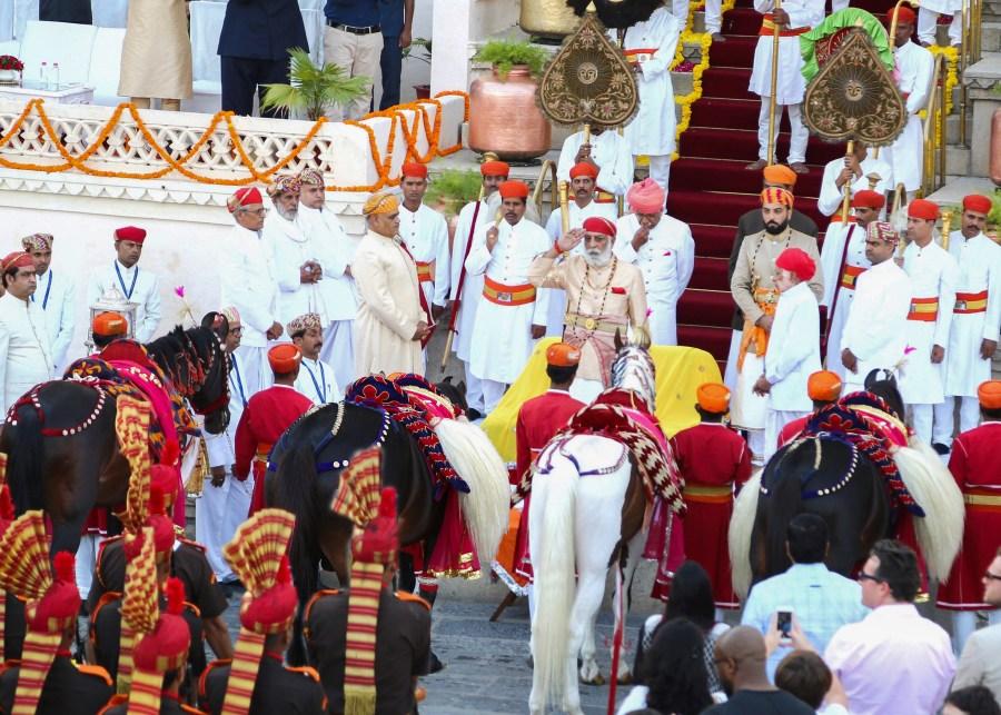 Ashwa Poojan Ceremony at City Palace Udaipur
