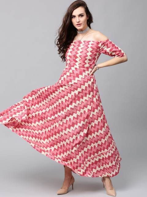 Maxi Dress By AKS Clothings.