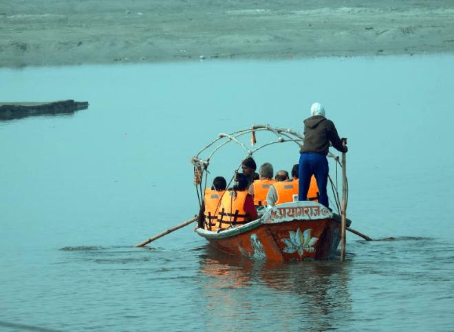 Boats to the mela