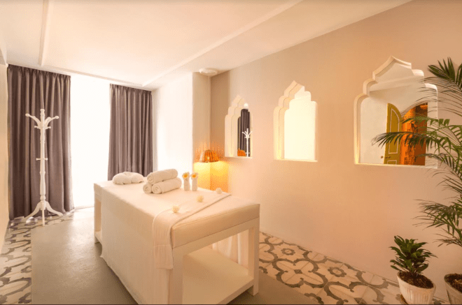 Meraki Spa room