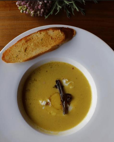 Chicken and Corn Soup courtesy One Fine Meal, Delhi