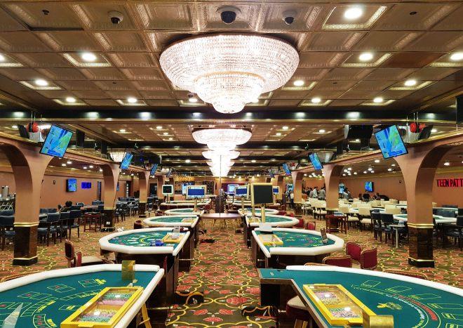 Interiors of Big Daddy Casino