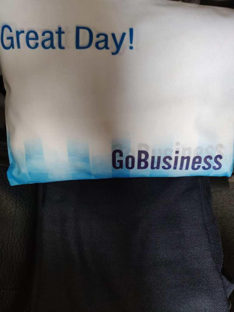 Business class amenities on board GoAir
