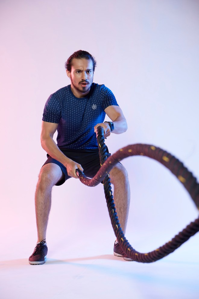 Battle Rope Workout courtesy Cult