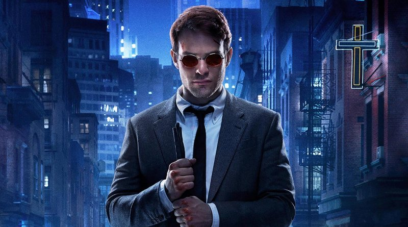 Lawyer Matt Murdock a.k.a. Daredevil