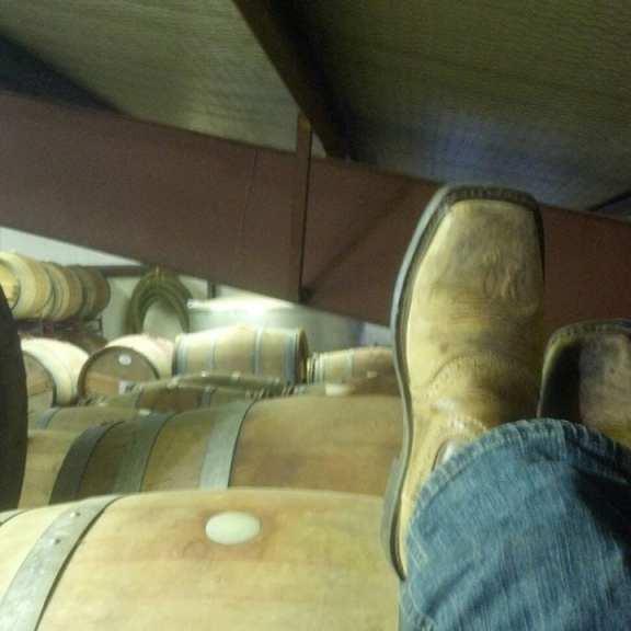 Daniel, winery, & boots