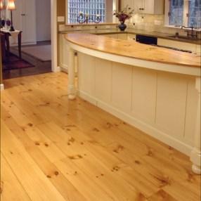 Eastern White Pine Flooring in Random Widths