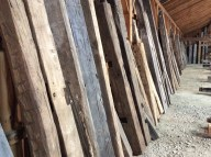 Reclaimed Timbers available for sale as is or including some type of customization.