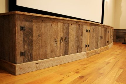 Reclaimed Barn Board Paneling and Flooring