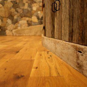 Relaimed South Face Oak Flooring