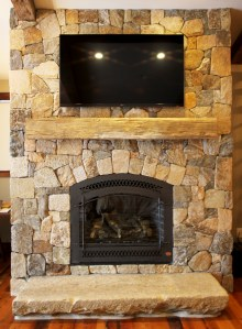 Reclaimed Beams and Mantles