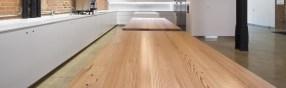 Reclaimed Vertical Grain Heart Pine Tables