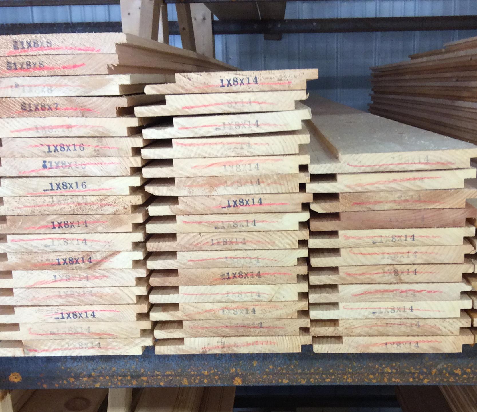 Pine Paneling