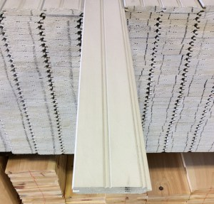 Primed and Finger Jointed Edge and Center Bead Paneling