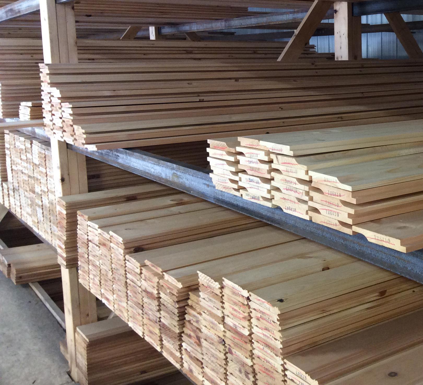 Pine Paneling Bingham Lumber