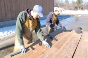 Each beam, joist and board that comes through our door is inspected with a metal detector before a saw blade touches it.